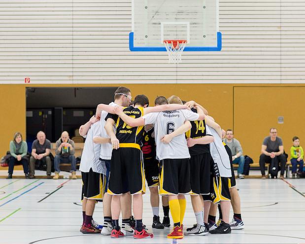 Die BG Aschersleben Tigers II erlebte das Schlimmste, as auf einem Basketballfeld möglich ist. // Foto: Hartmut Bösener